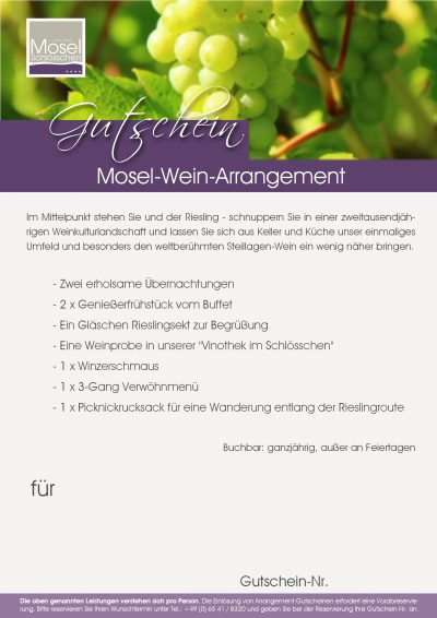 Moselweinarrangement