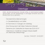 Arrangement Ostertage